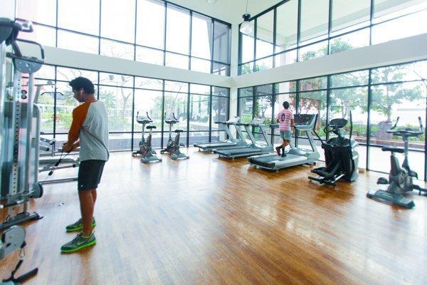 Inforum Deluxe Student Residence - gym
